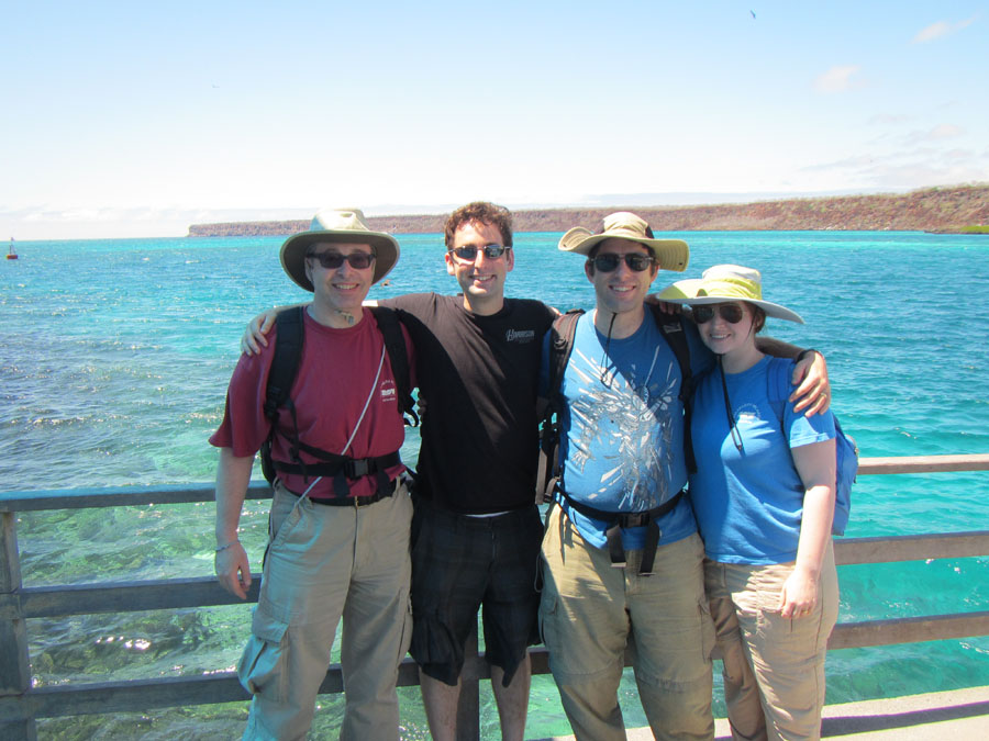 The  Weisses in the Galapagos